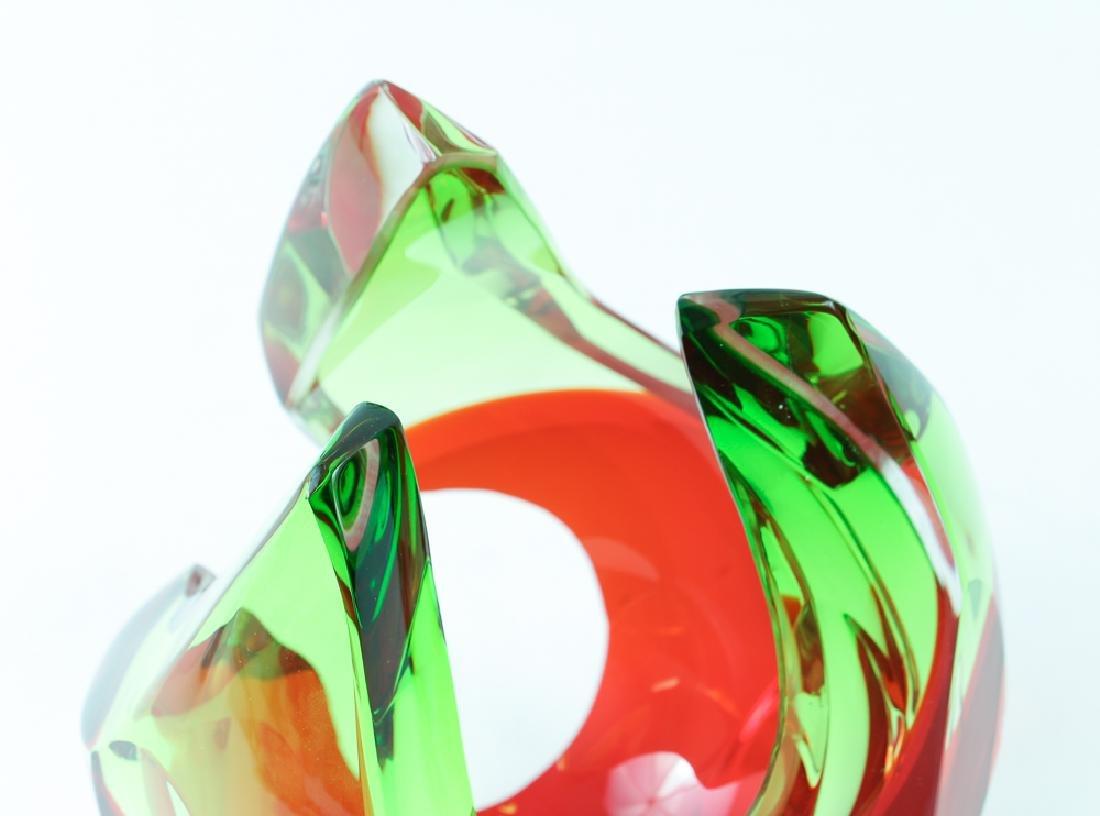 Richard Silver 2006 glass sculpture Flame - 4