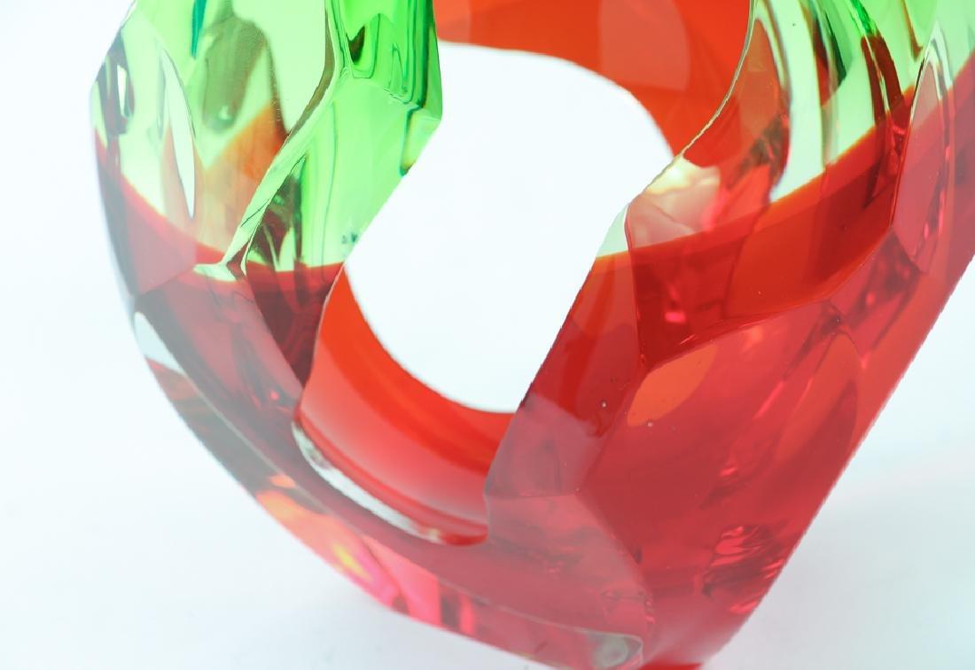 Richard Silver 2006 glass sculpture Flame - 5