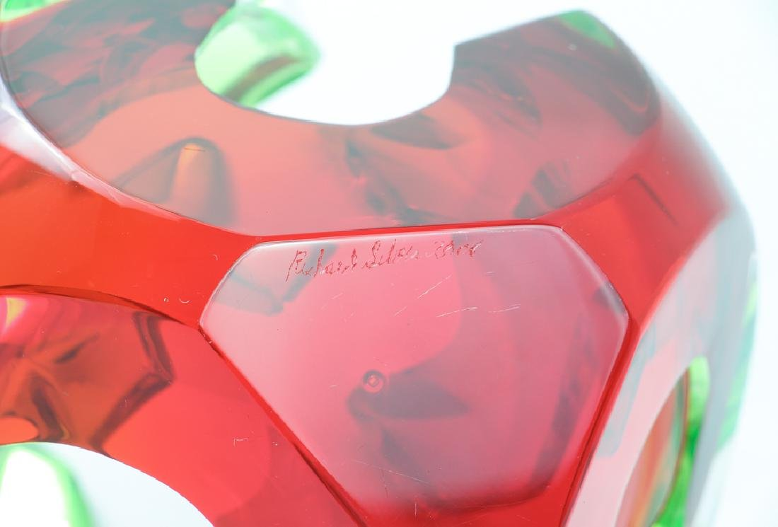 Richard Silver 2006 glass sculpture Flame - 6