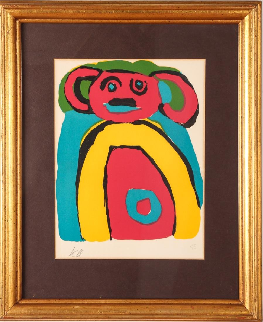 Karel Appel signed lithograph Bear - 2