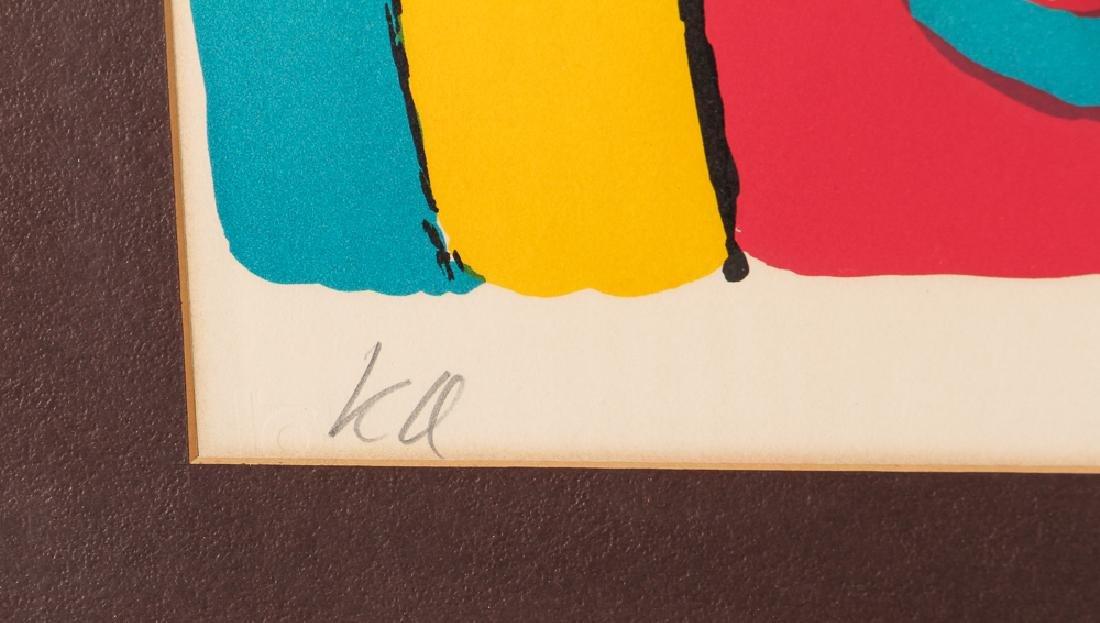 Karel Appel signed lithograph Bear - 3