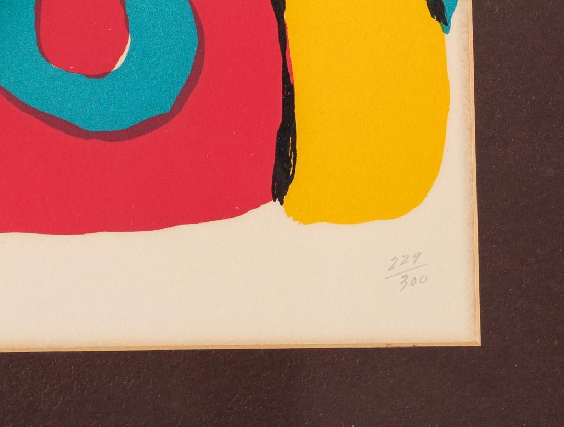Karel Appel signed lithograph Bear - 4