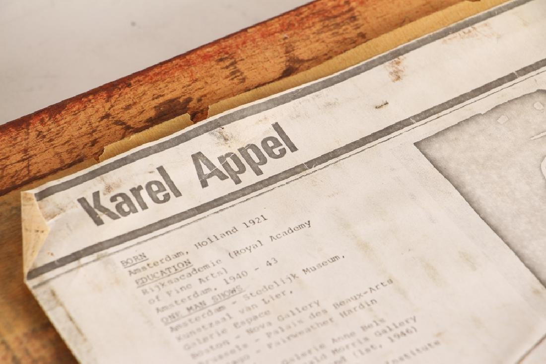 Karel Appel signed lithograph Bear - 8