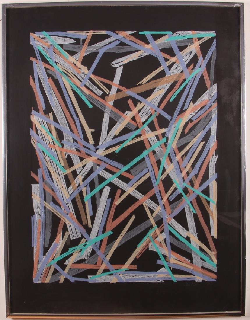 Charles Arnoldi Untitled #5 1983 Limited Edition Print - 2