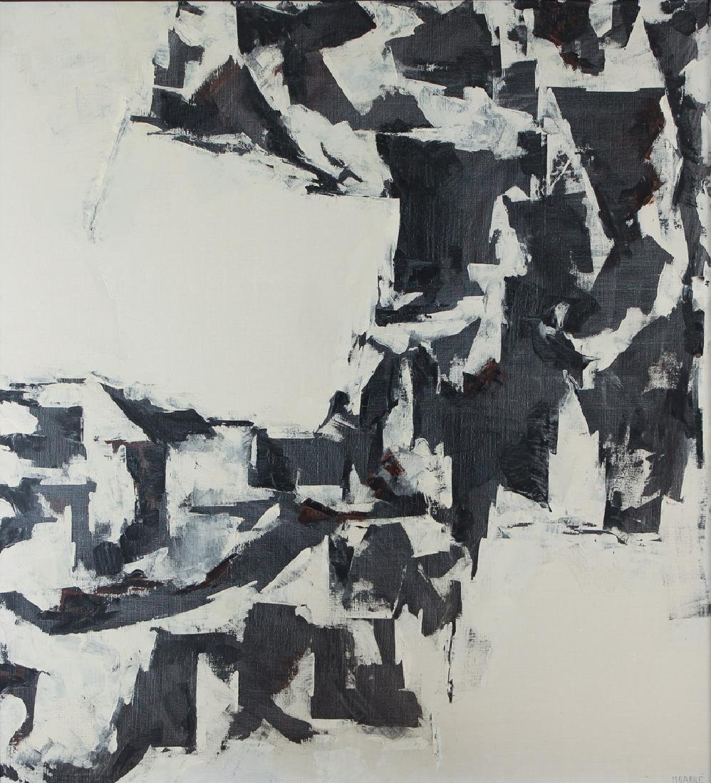 Martin Barre Abstract Expressionist 1960 painting