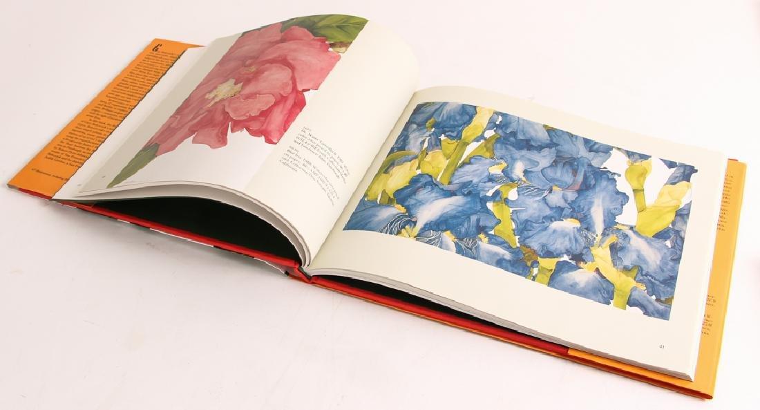 Gary Bukovnik watercolor; Wild Rose Study II - 9