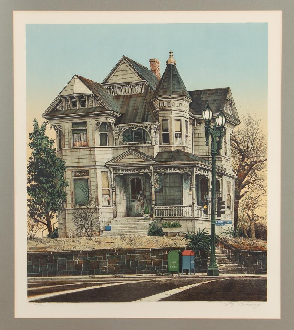 Merv Corning Arlington House Lithograph