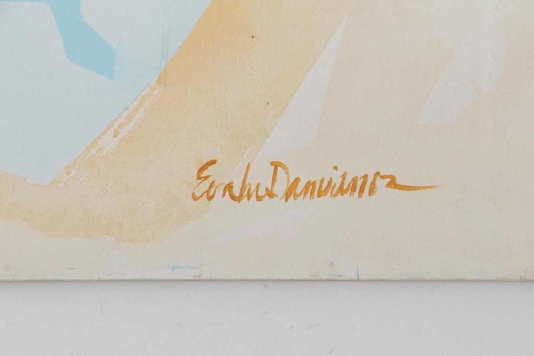 Eva Lou Damianos Untitled Abstract canvas - 3