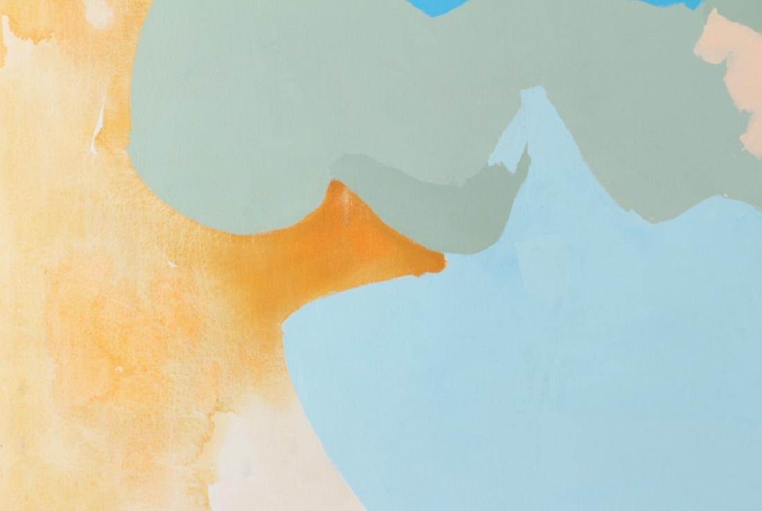 Eva Lou Damianos Untitled Abstract canvas - 5