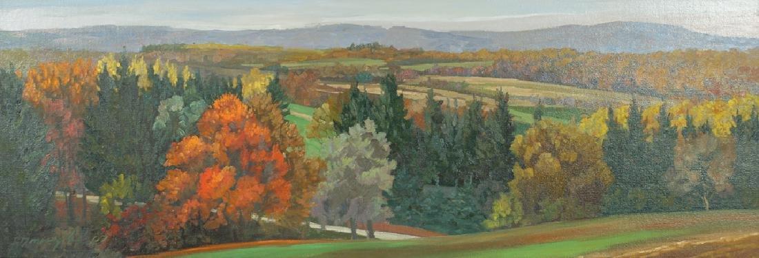 Ron Donoughe 2007 painting Vista from Laurel Ridge