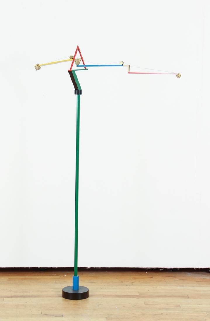 PETER GRIMORD freestanding sculpture Terramount 1987