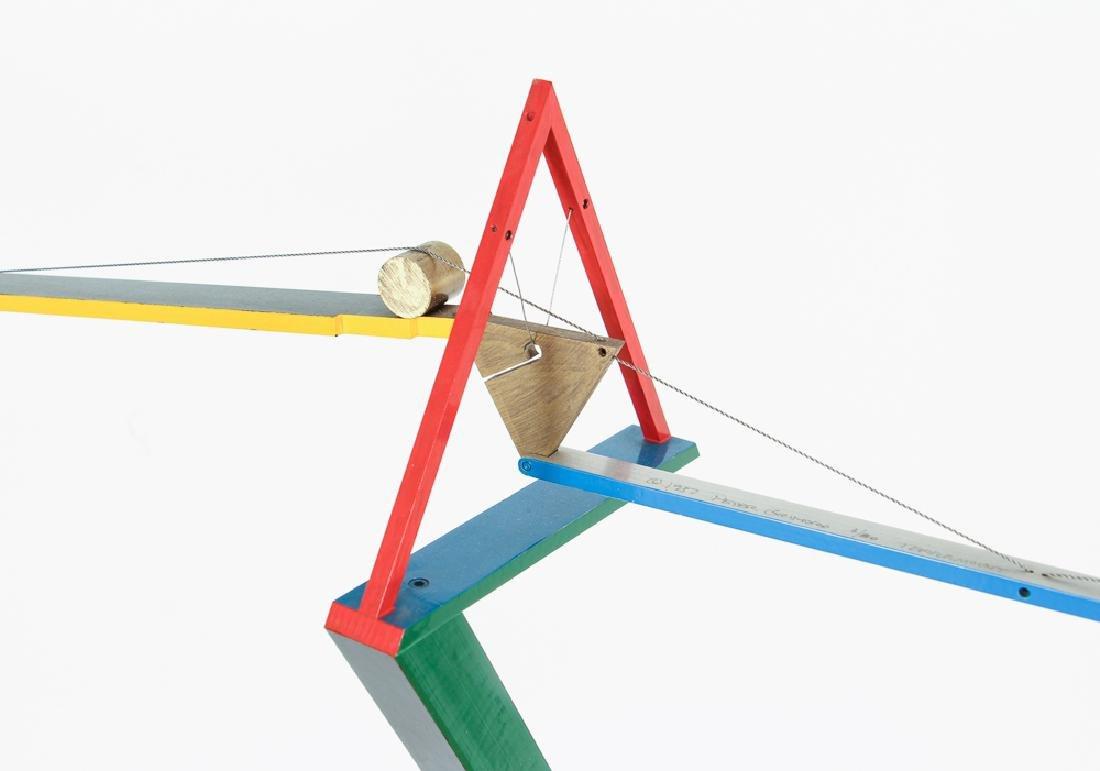 PETER GRIMORD freestanding sculpture Terramount 1987 - 4