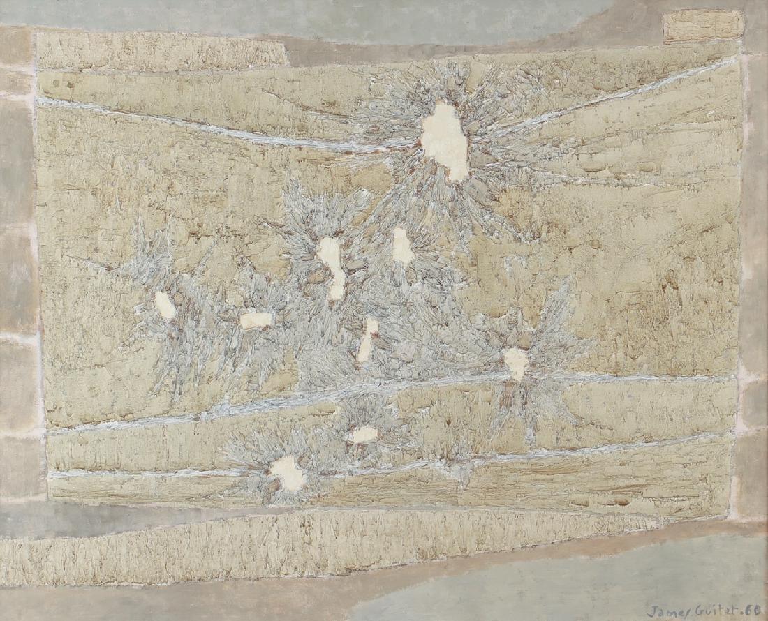 James Guitet 1960 oil on canvas 40F.1.60