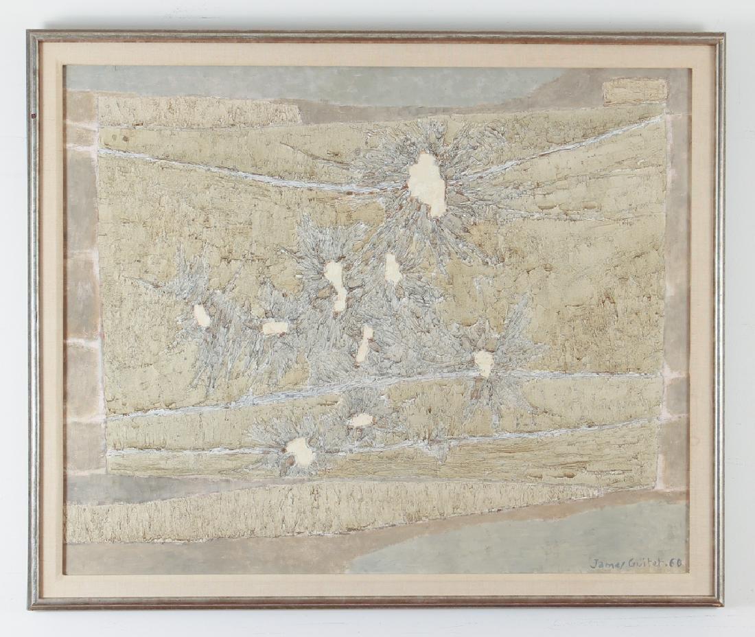 James Guitet 1960 oil on canvas 40F.1.60 - 2