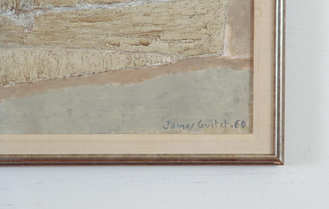 James Guitet 1960 oil on canvas 40F.1.60 - 3