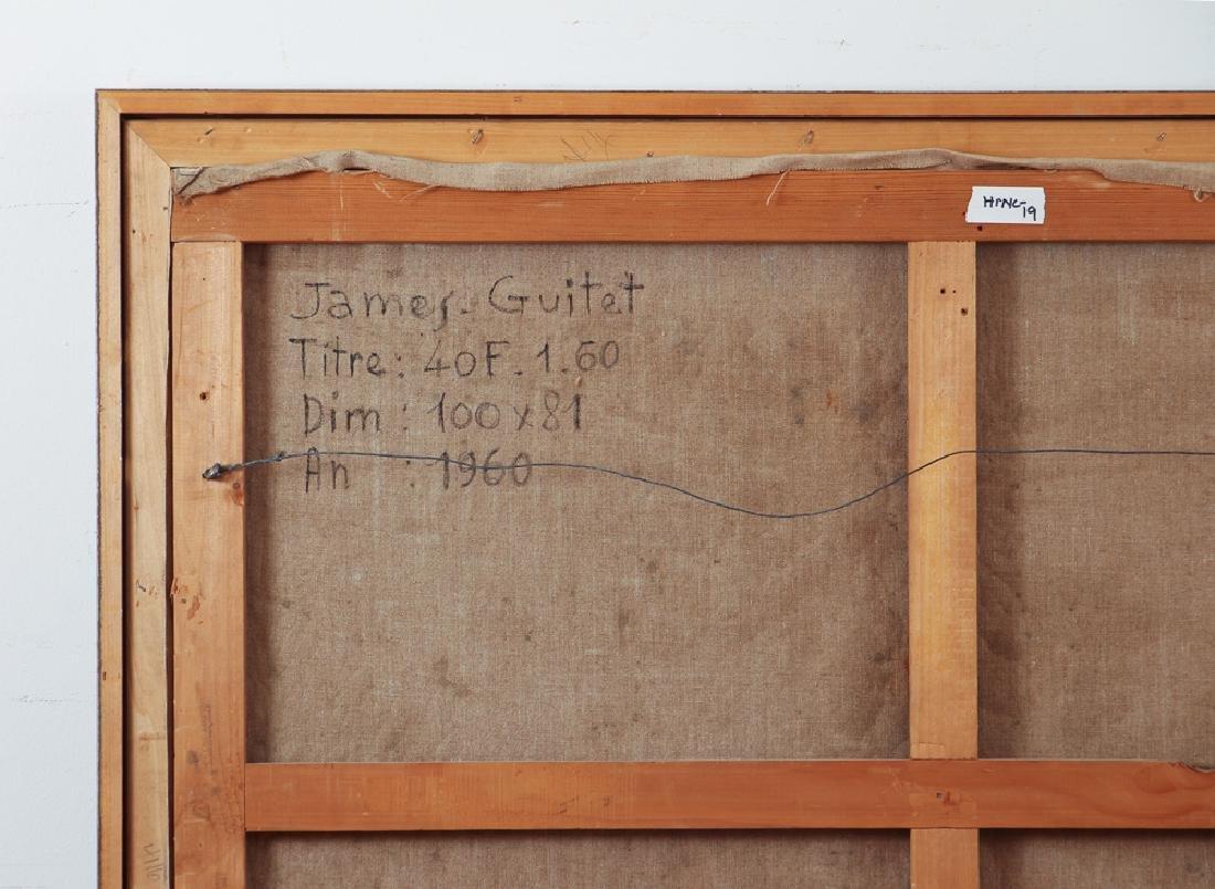 James Guitet 1960 oil on canvas 40F.1.60 - 9