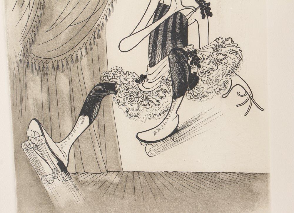 AL HIRSCHFELD Barbra Streisand 1975 etching - 6