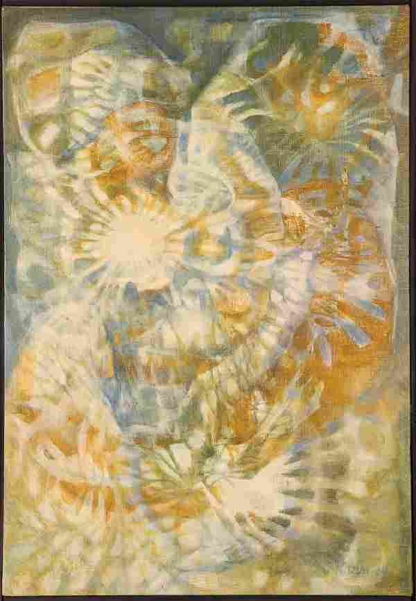 Gloria Karn 1964 painting Guardian Angel