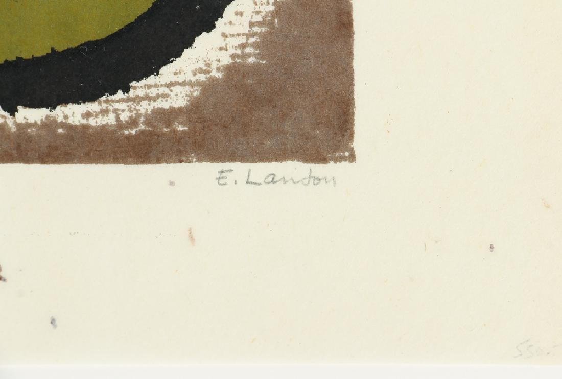 Edward Landon Flying Off at a Tangent 1982 Silkscreen - 3