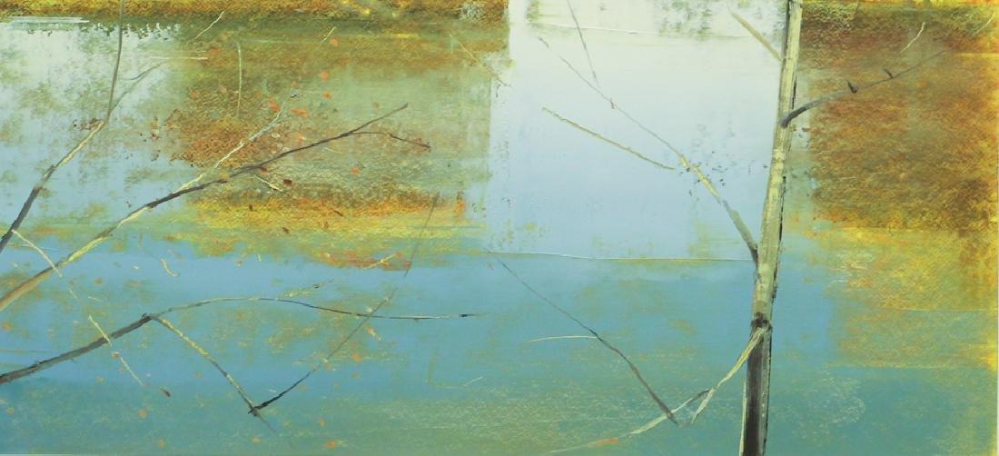 Stephen Pentak 2005 Landscape painting on paper