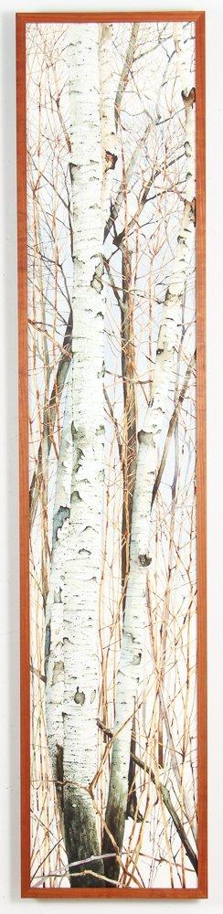 Charles Pitcher 4 panel watercolor polytch Momoyama - 10