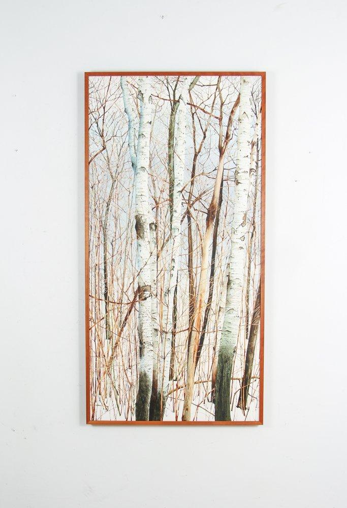 Charles Pitcher 4 panel watercolor polytch Momoyama - 5