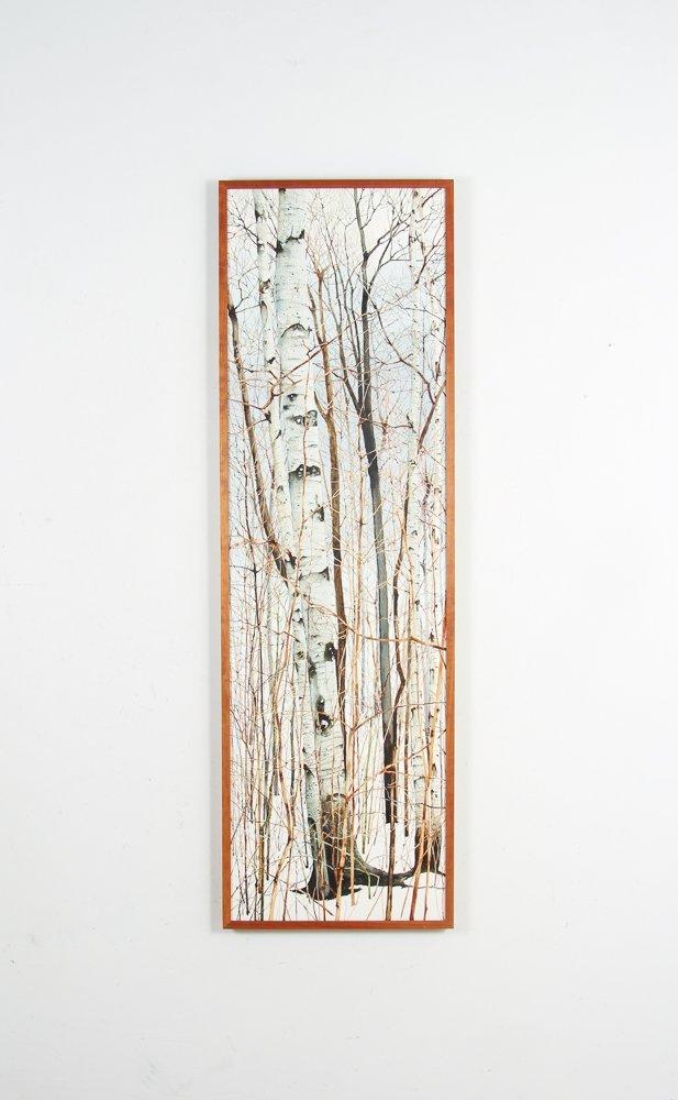 Charles Pitcher 4 panel watercolor polytch Momoyama - 7