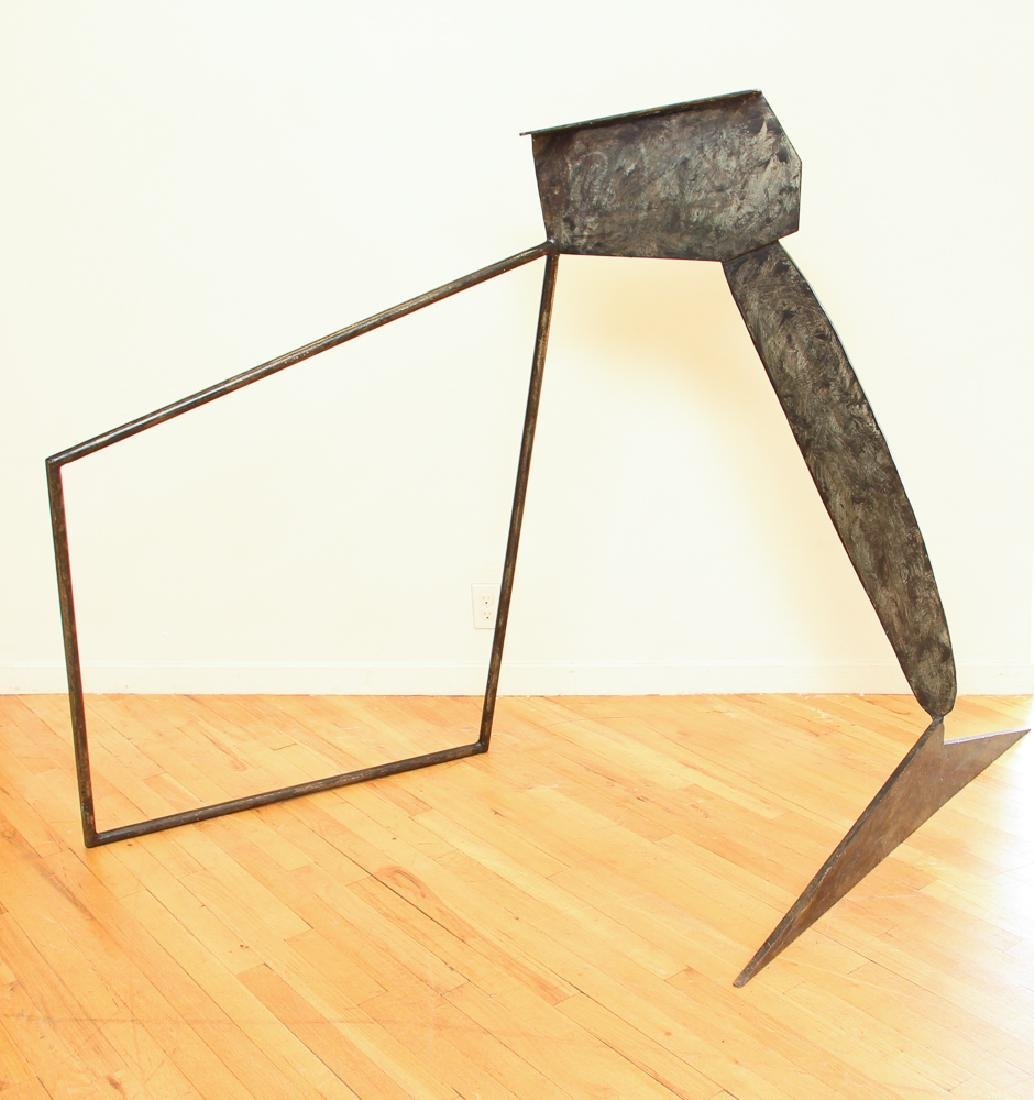 Peter Reginato 1975 Untitled steel sculpture