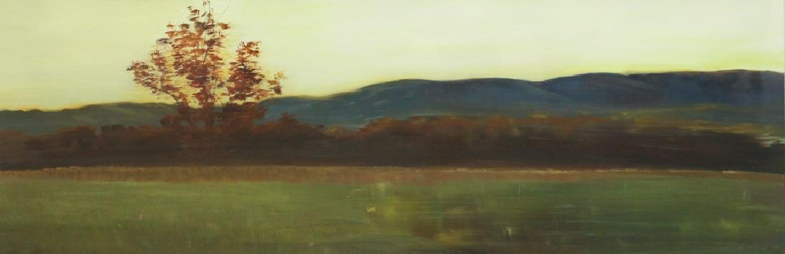 Patrick Ruane ptg. On paper, Field in Twilight I, 2007