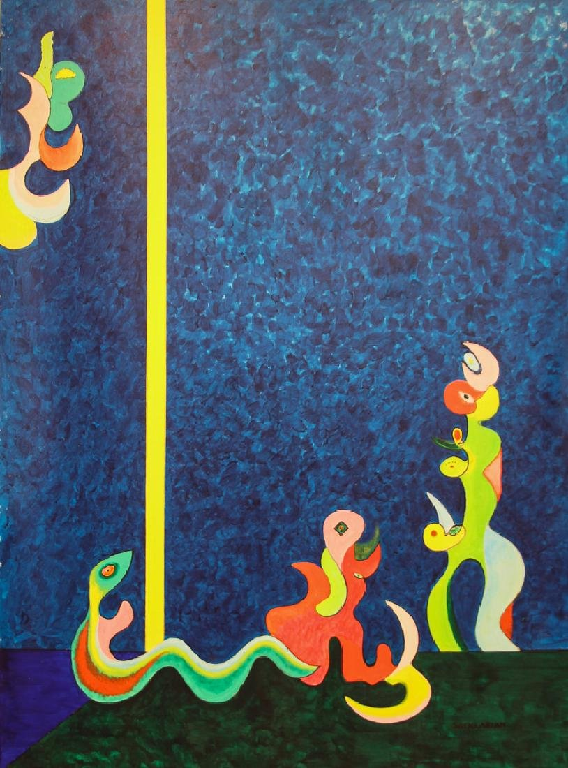 Stephen Sacklarian painting Triumph and Destiny