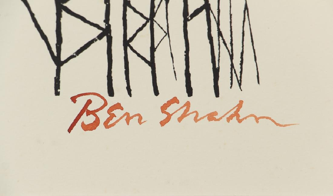 4 Ben Shahn orig lithos  For the Sake of a Single Verse - 3