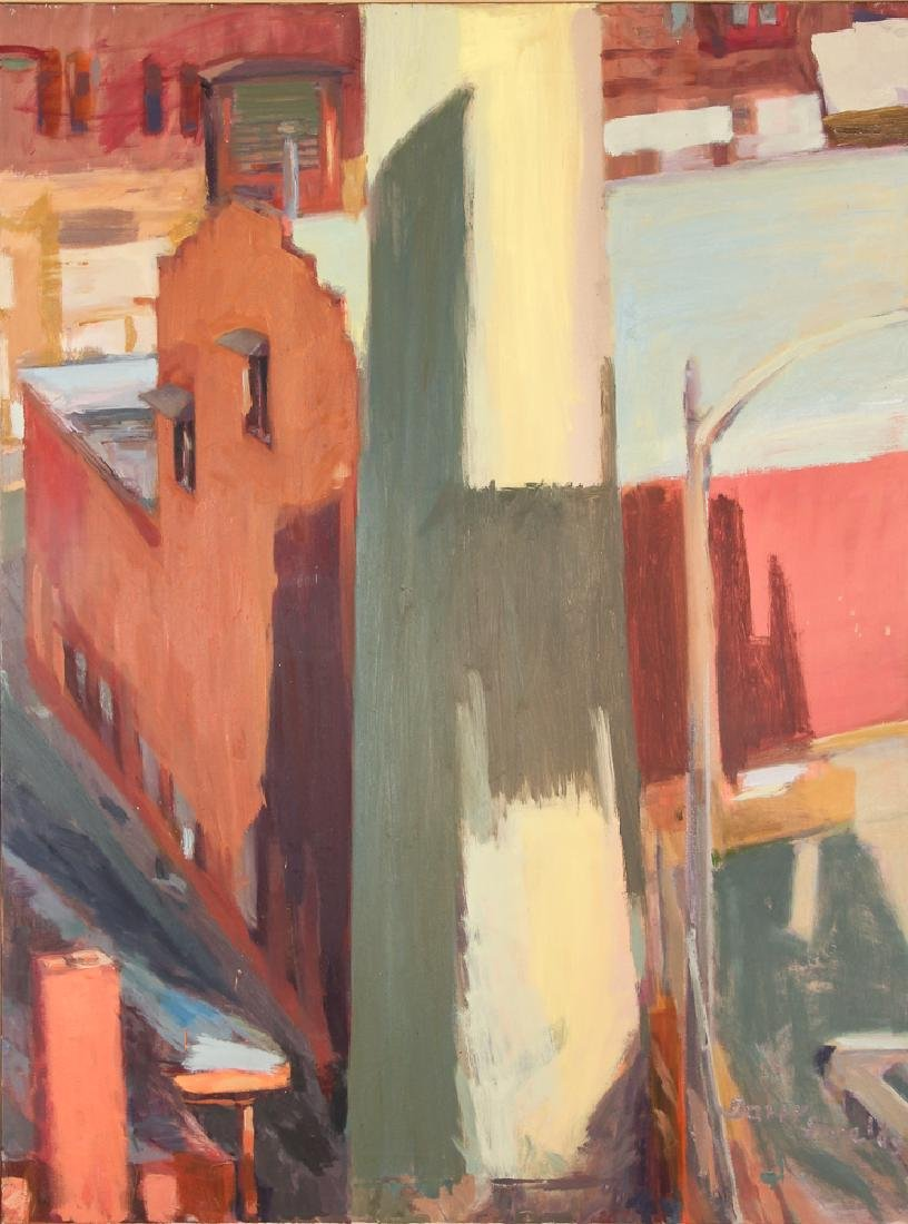 Barry Shields painting Forward Avenue 2005