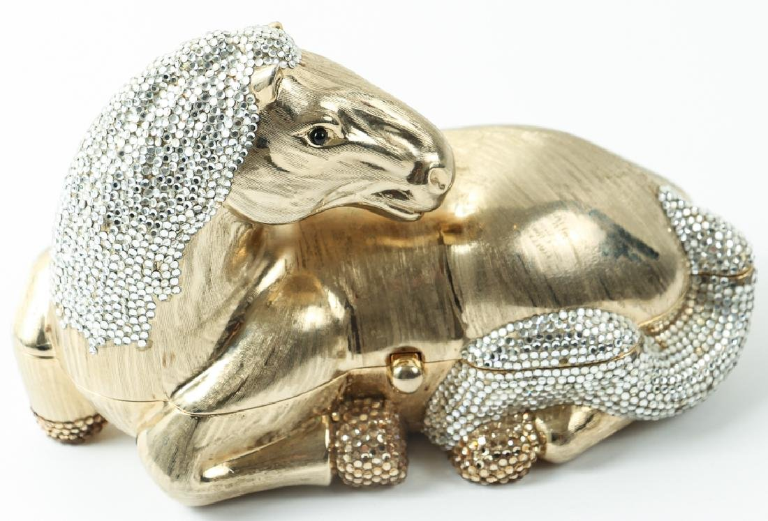 Judith Leiber Horse Novelty Clutch Purse - 2