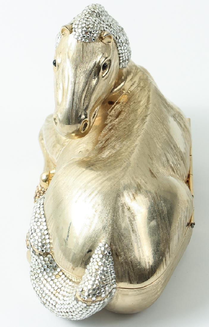 Judith Leiber Horse Novelty Clutch Purse - 6