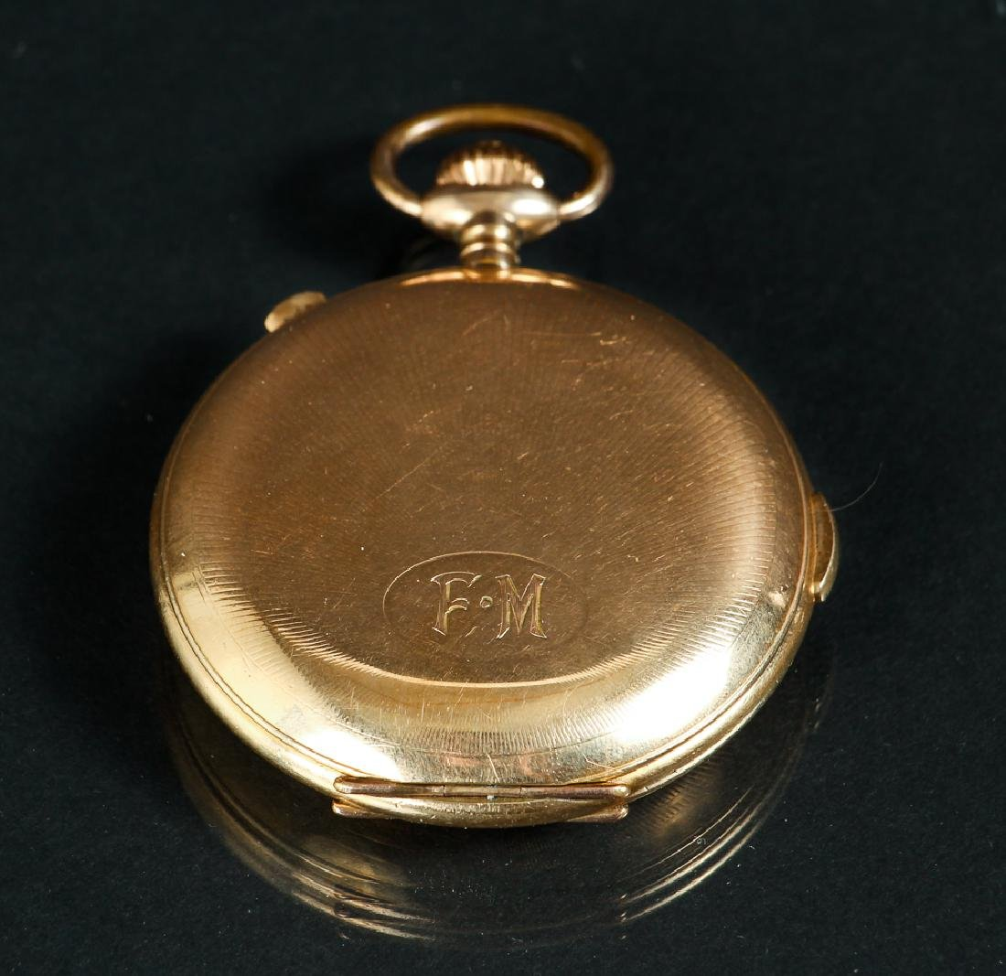 KAMA Pocket Watch with Stop Watch Feature - 2