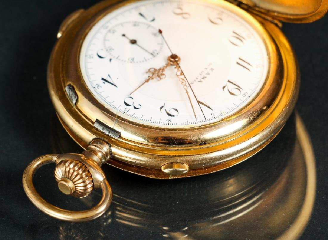 KAMA Pocket Watch with Stop Watch Feature - 6