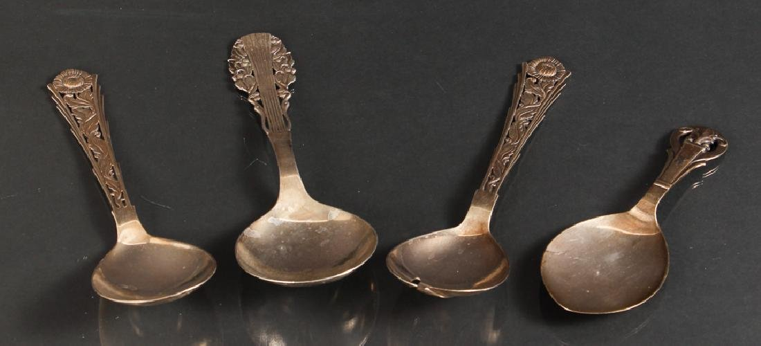 Four Pieces of Danish Sterling  Silver