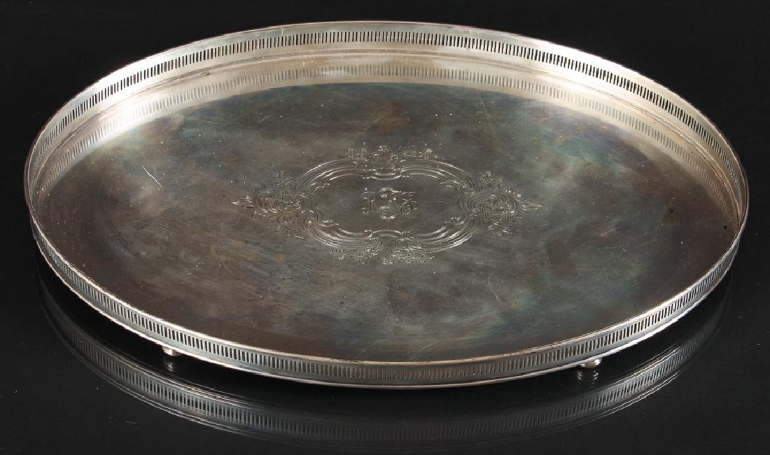 Gorham Sterling Silver Footed Tray
