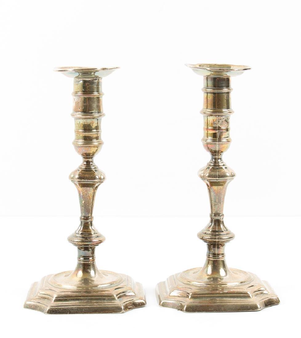 Georgian Sterling Silver Candlesticks