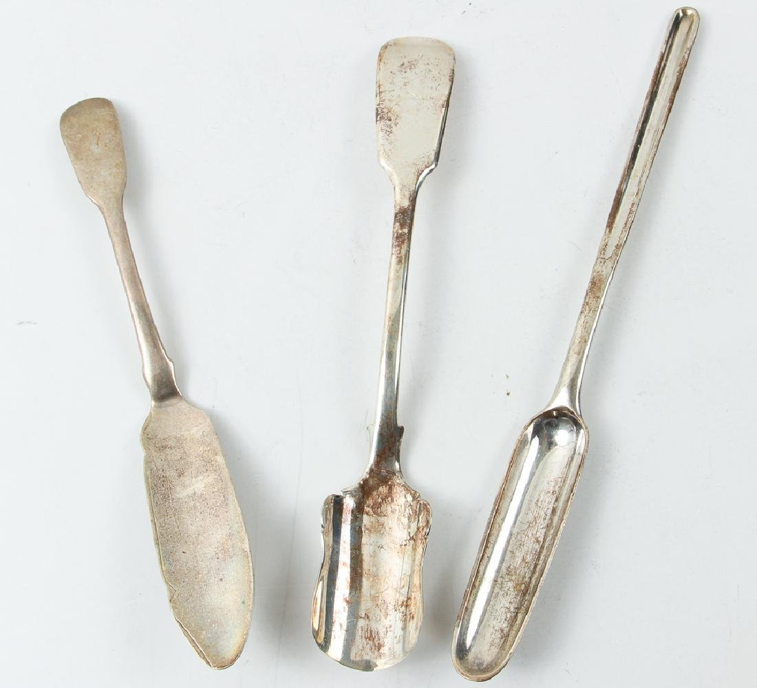 Group Sterling Flatware Mostly Georgian Period - 14