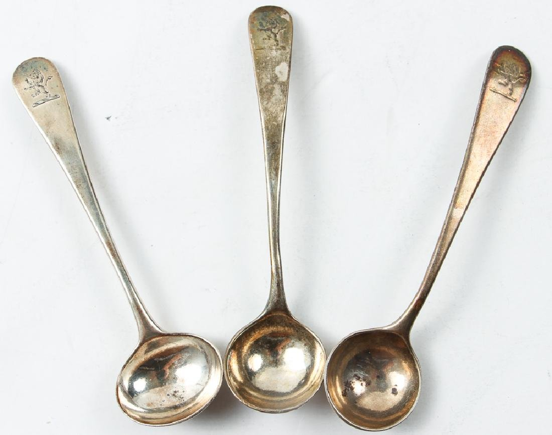 Group Sterling Flatware Mostly Georgian Period - 2