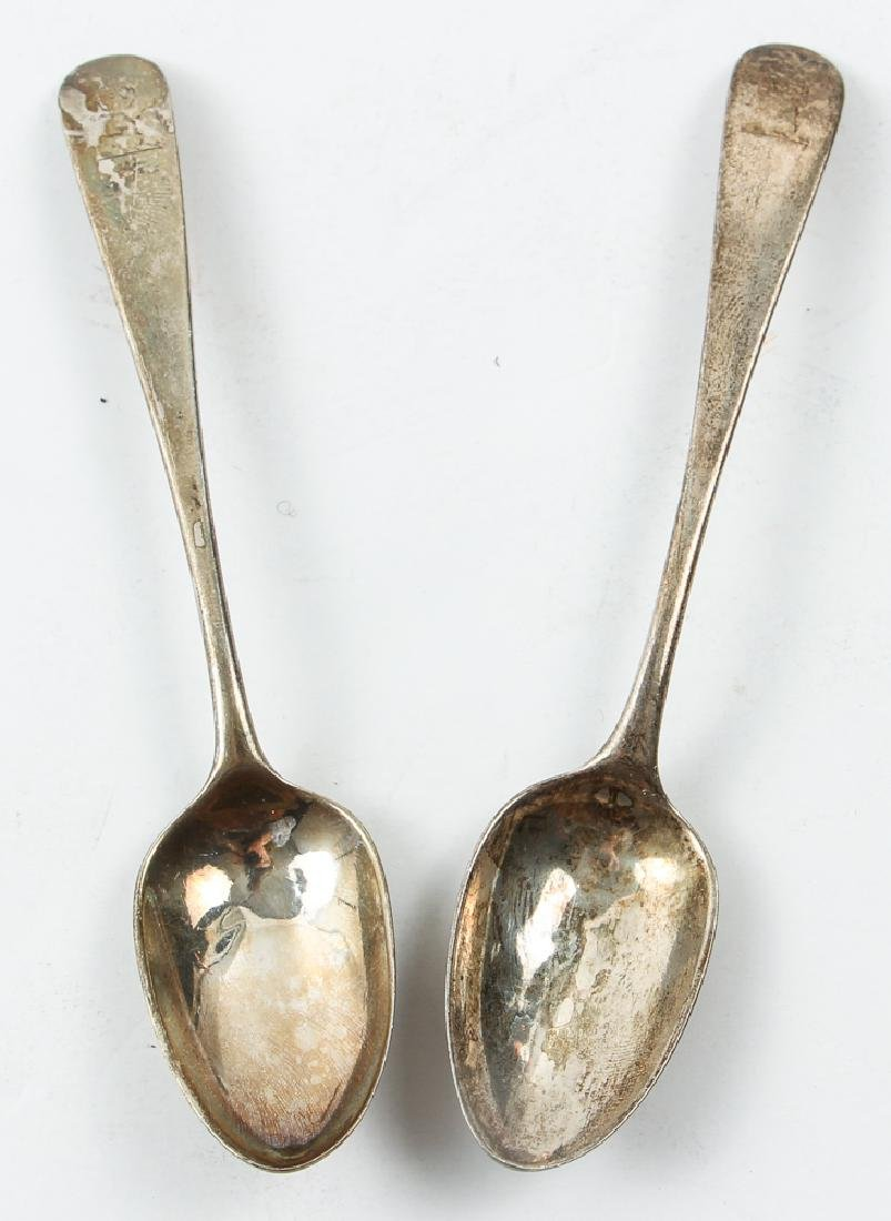 Group Sterling Flatware Mostly Georgian Period - 8