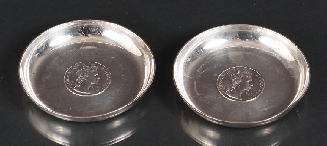 Sterling Silver Queen Elizabeth Coronation Souvenirs