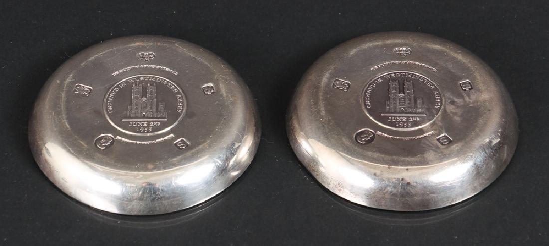 Sterling Silver Queen Elizabeth Coronation Souvenirs - 2