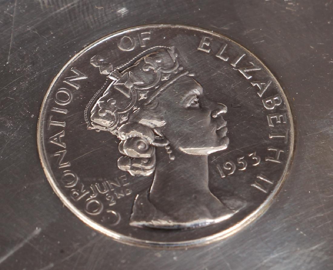Sterling Silver Queen Elizabeth Coronation Souvenirs - 3