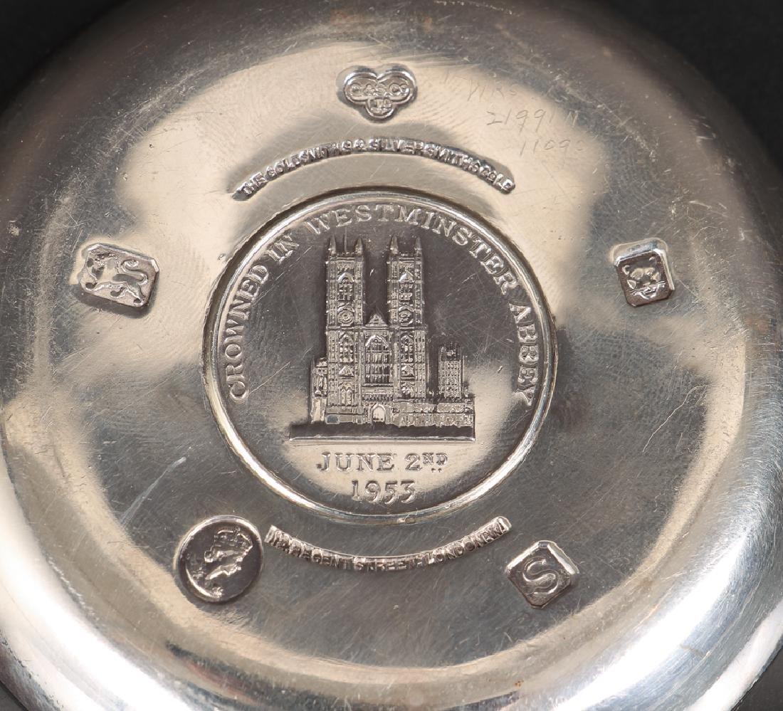 Sterling Silver Queen Elizabeth Coronation Souvenirs - 4