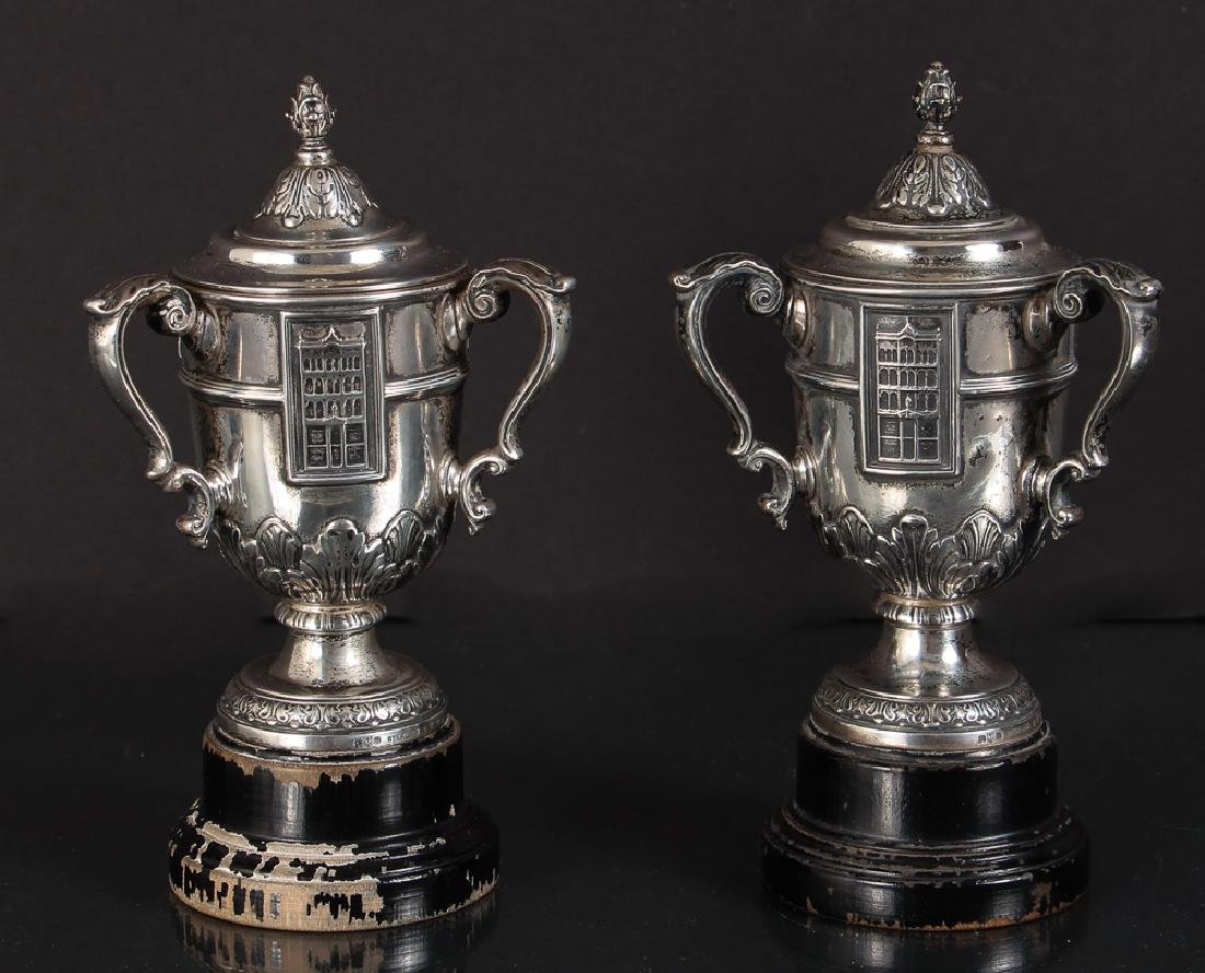 Two Thomas Mellon Cup Gorham Sterling Cups