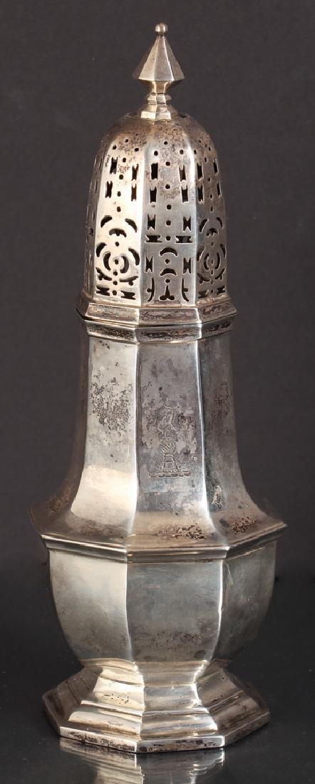 English Victorian Sterling Silver Caster