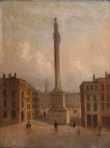 10: 2 19th Century Oil Paintings, French City and Farm
