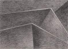298 James Rosati Graphite Drawing